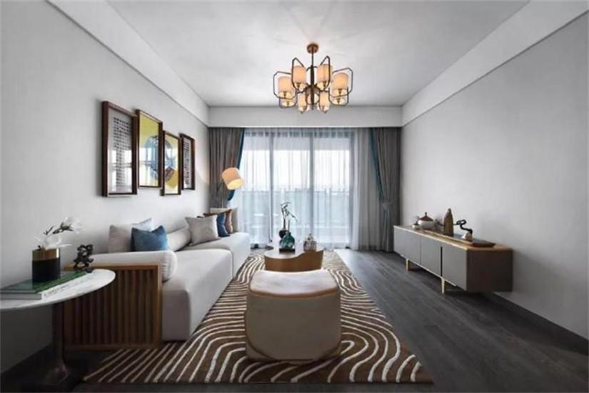 2020簡中110平米裝修設計 2020簡中三居室裝修設計圖片