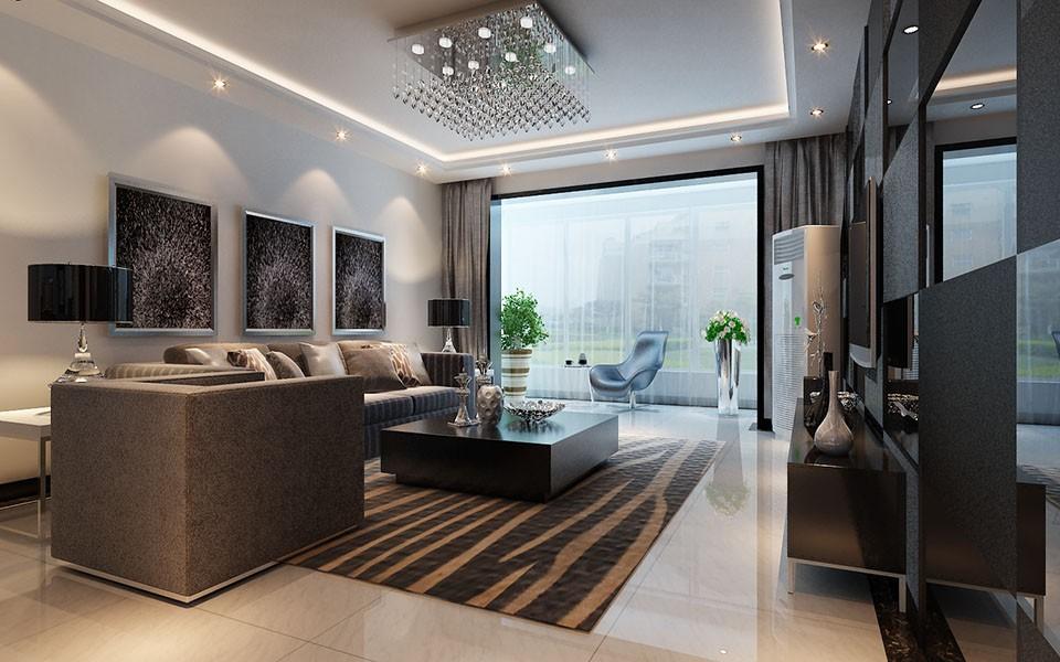 2021后现代150平米效果图 2021后现代套房设计图片