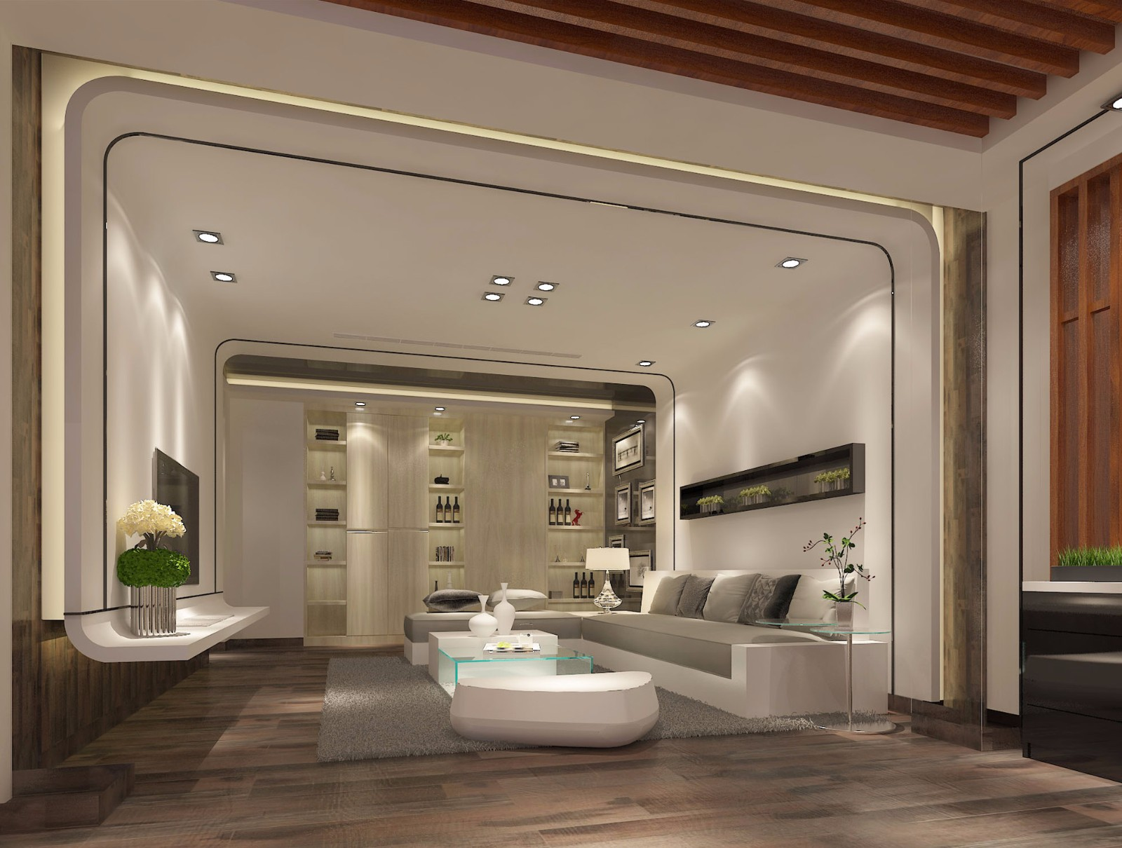 3室2卫3厅现代风格