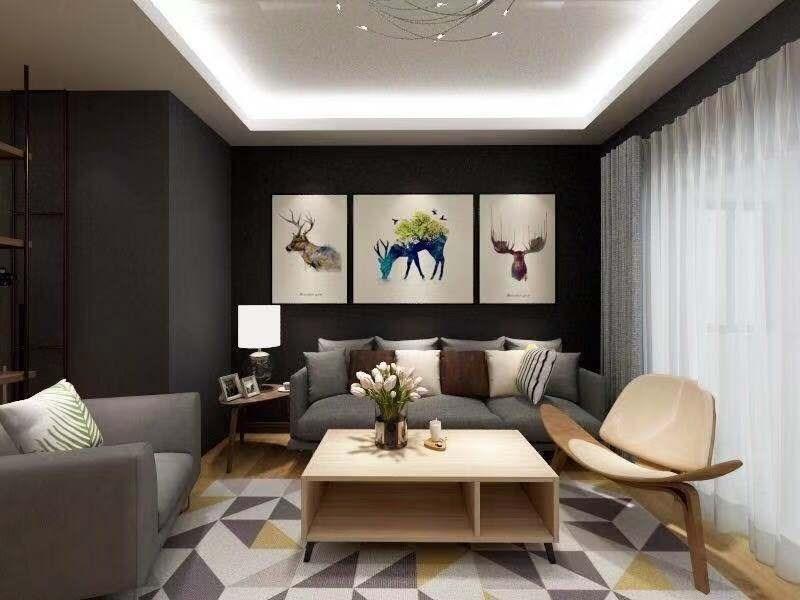 2021工业70平米设计图片 2021工业二居室装修设计