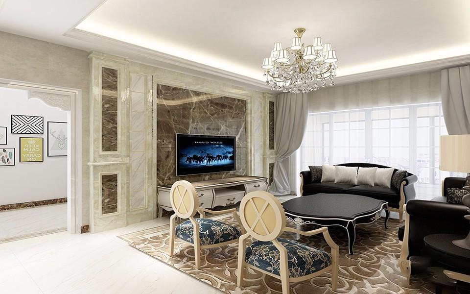 2020欧式150平米效果图 2020欧式套房设计图片