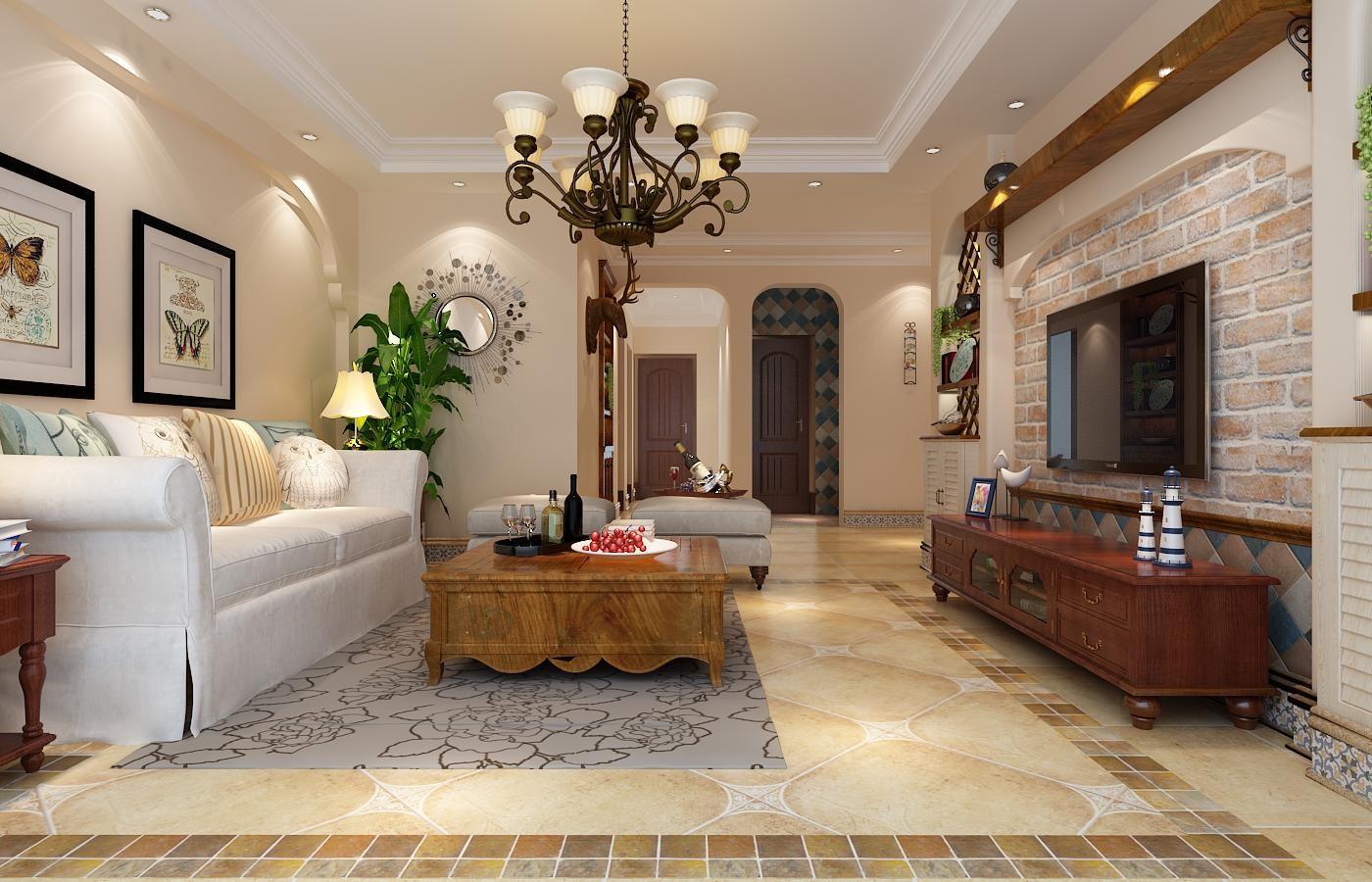 3室2卫2厅美式风格