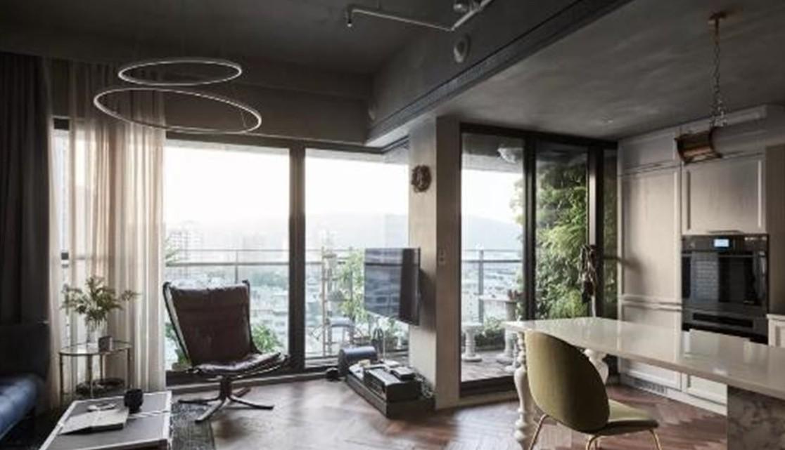 2021工业110平米装修设计 2021工业三居室装修设计图片