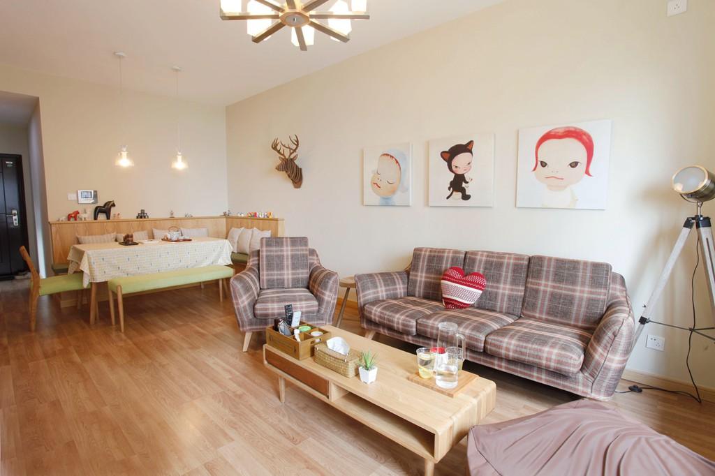 2020日式70平米设计图片 2020日式二居室装修设计