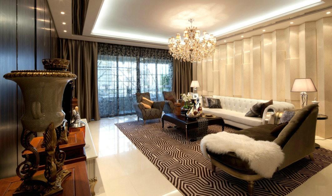 115平现代简约风格三居室装修效果图