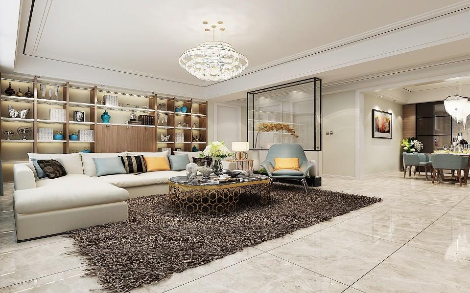 3室1卫2厅150平米现代风格