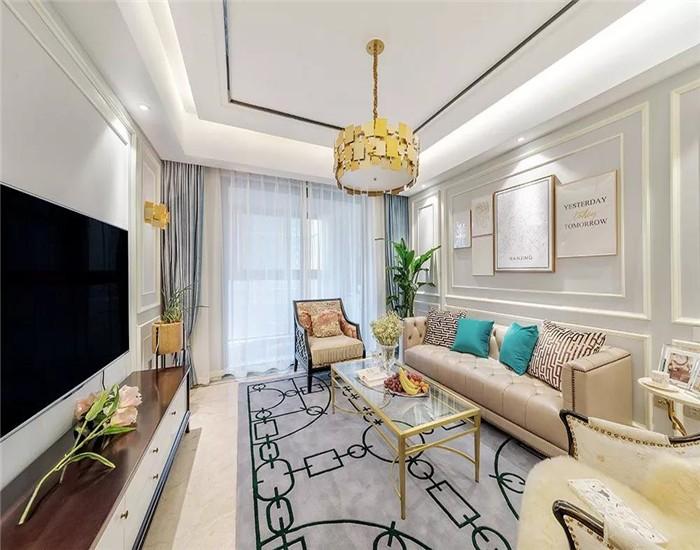 3室2卫2厅133平米美式风格