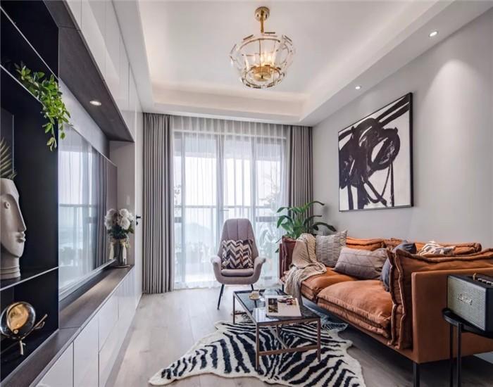 2室1卫2厅83平米现代简约风格