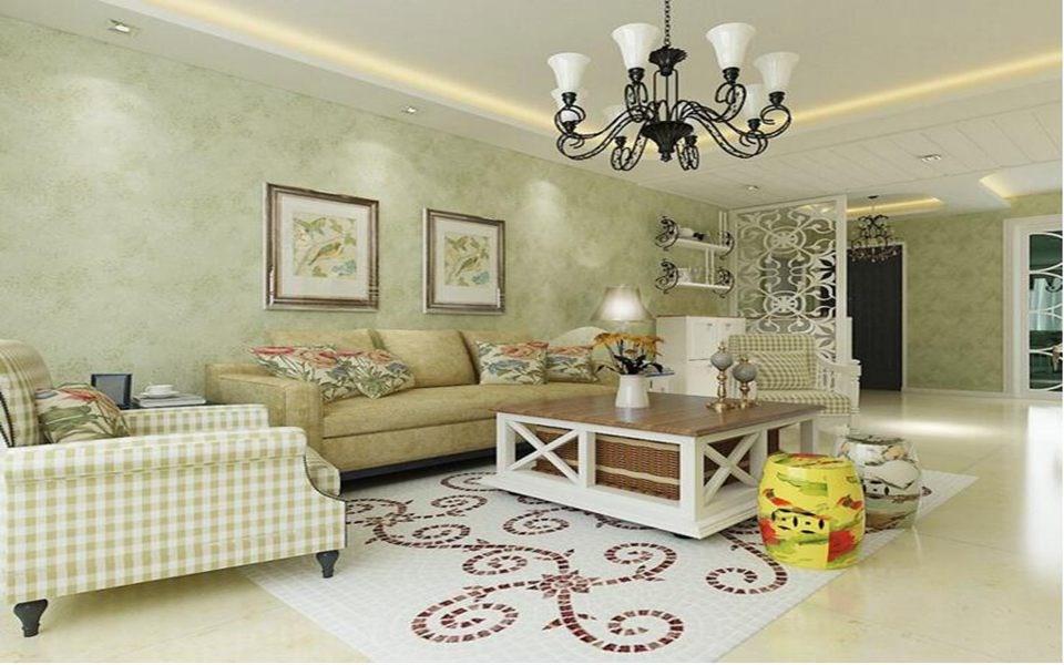 2020欧式田园90平米装饰设计 2020欧式田园三居室装修设计图片
