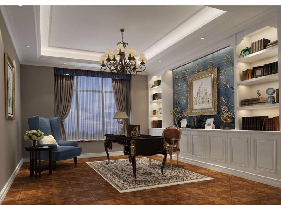 268平欧式风格别墅装修效果图