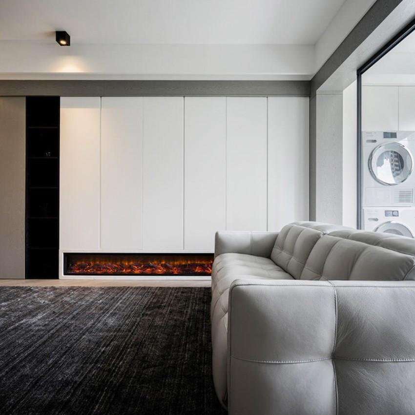 80平简约风格两居室装修效果图
