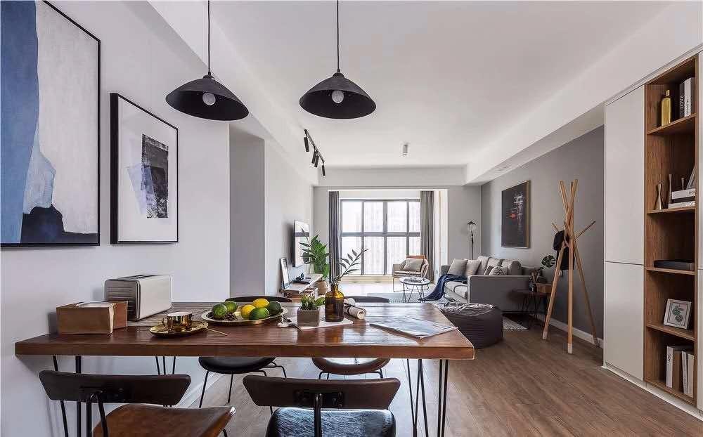 2021工业90平米装饰设计 2021工业三居室装修设计图片