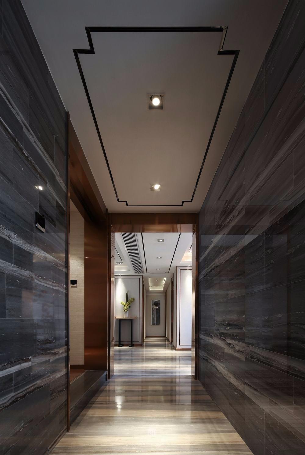 2019新中式玄关图片 2019新中式门厅装修效果图大全