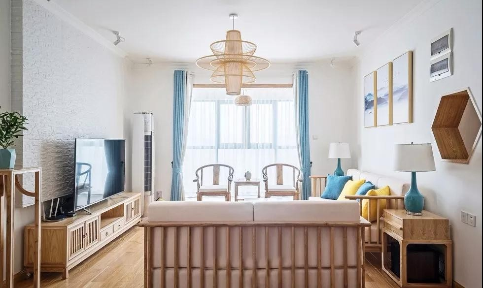 143平新中式风格四室一厅装修效果图