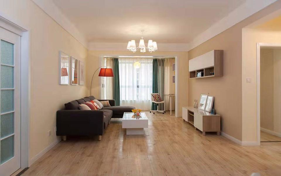 108平现代简约风格两居室装修效果图