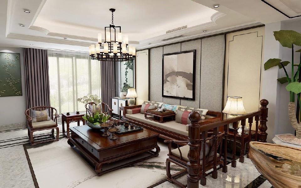 7室4卫4厅280平米中式风格