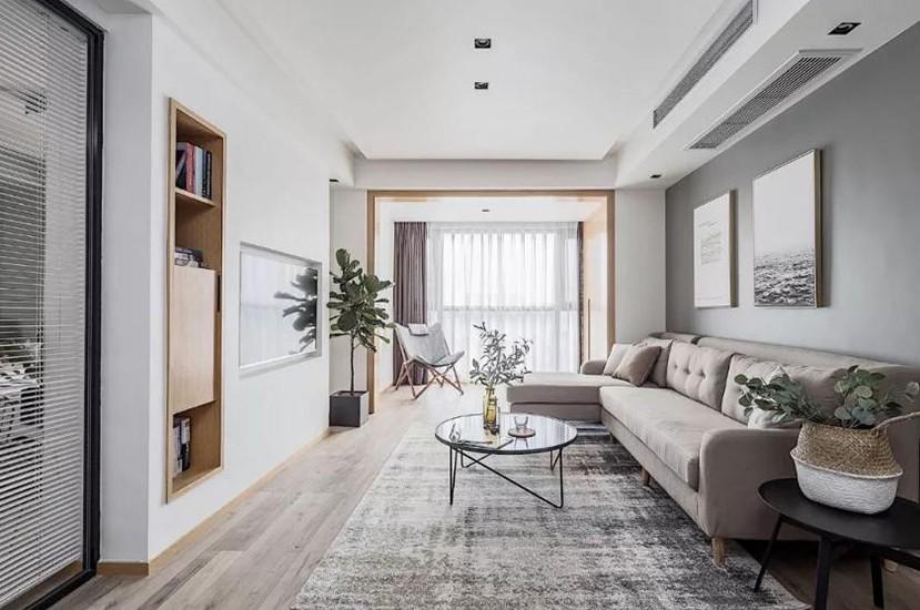 2室2卫2厅120平米北欧风格