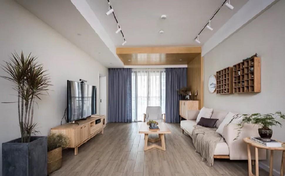 2020現代中式90平米裝飾設計 2020現代中式二居室裝修設計
