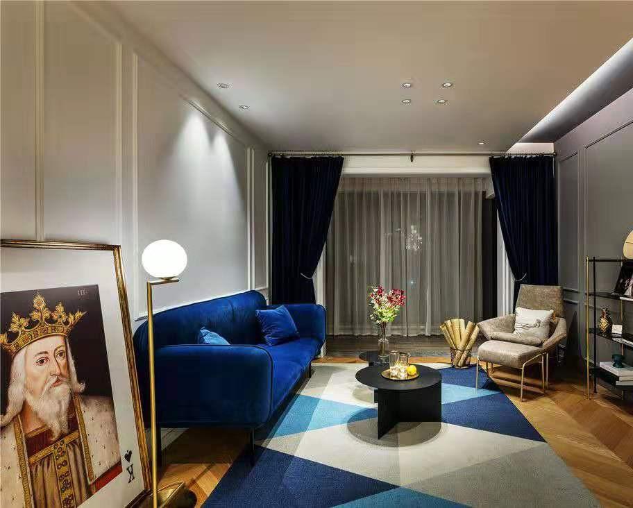 3室1卫2厅105平米北欧风格