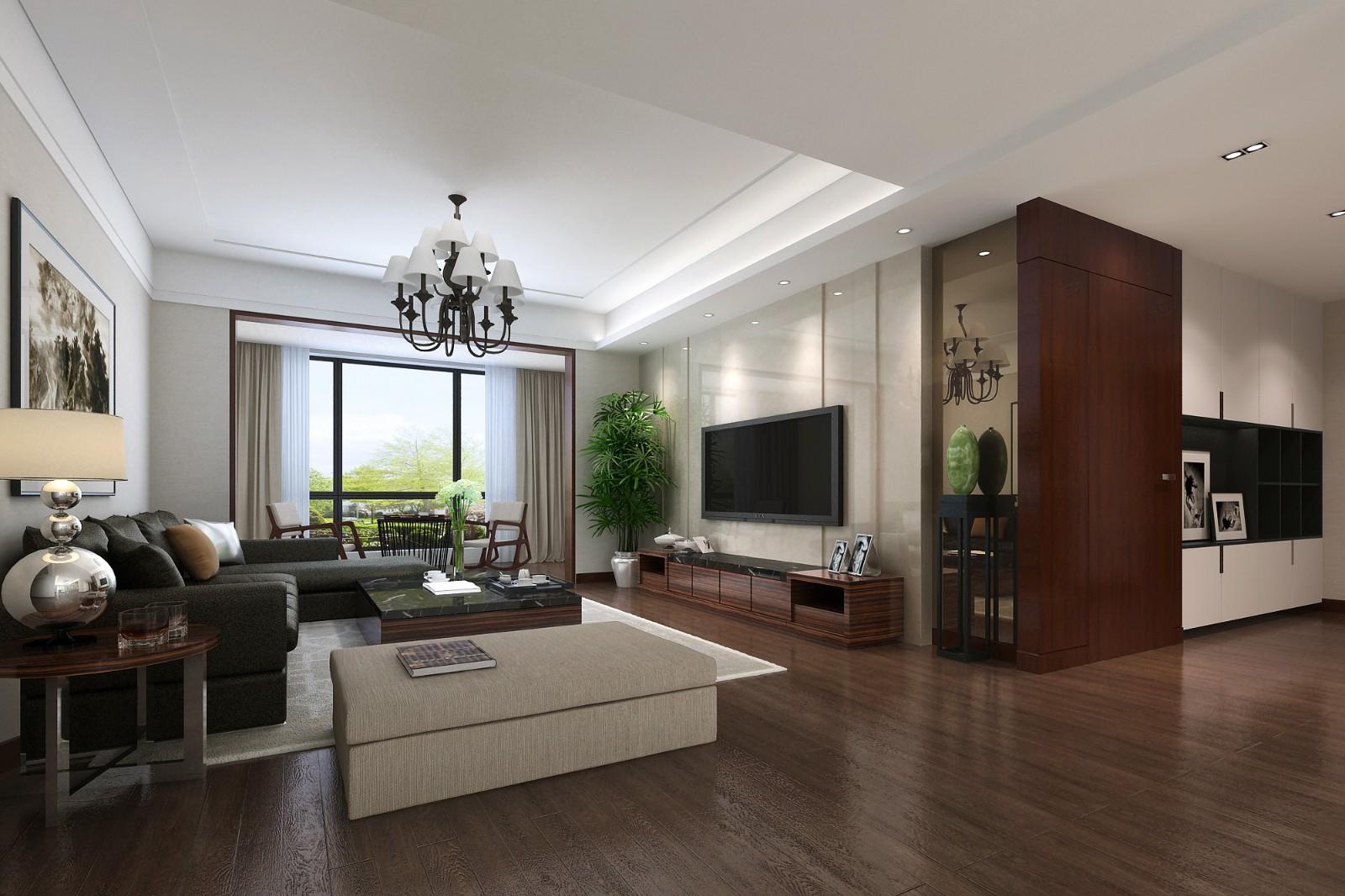 4室2卫2厅190平米现代风格