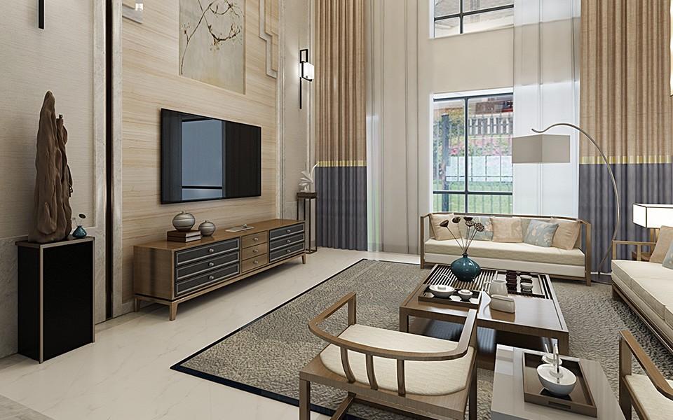 6室3卫3厅480平米中式风格