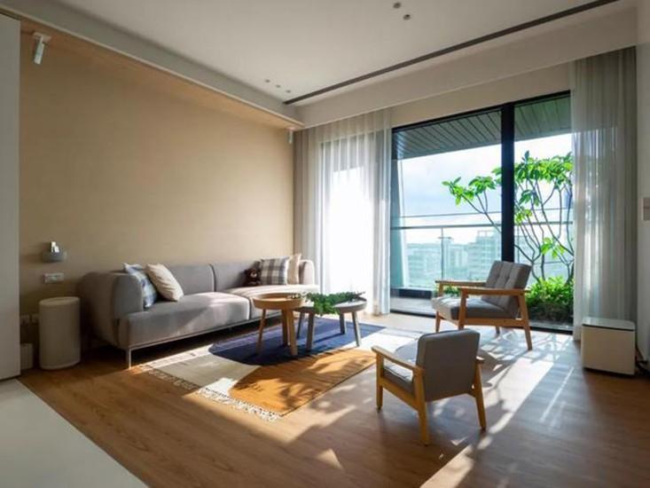 3室2卫2厅120平米日式风格