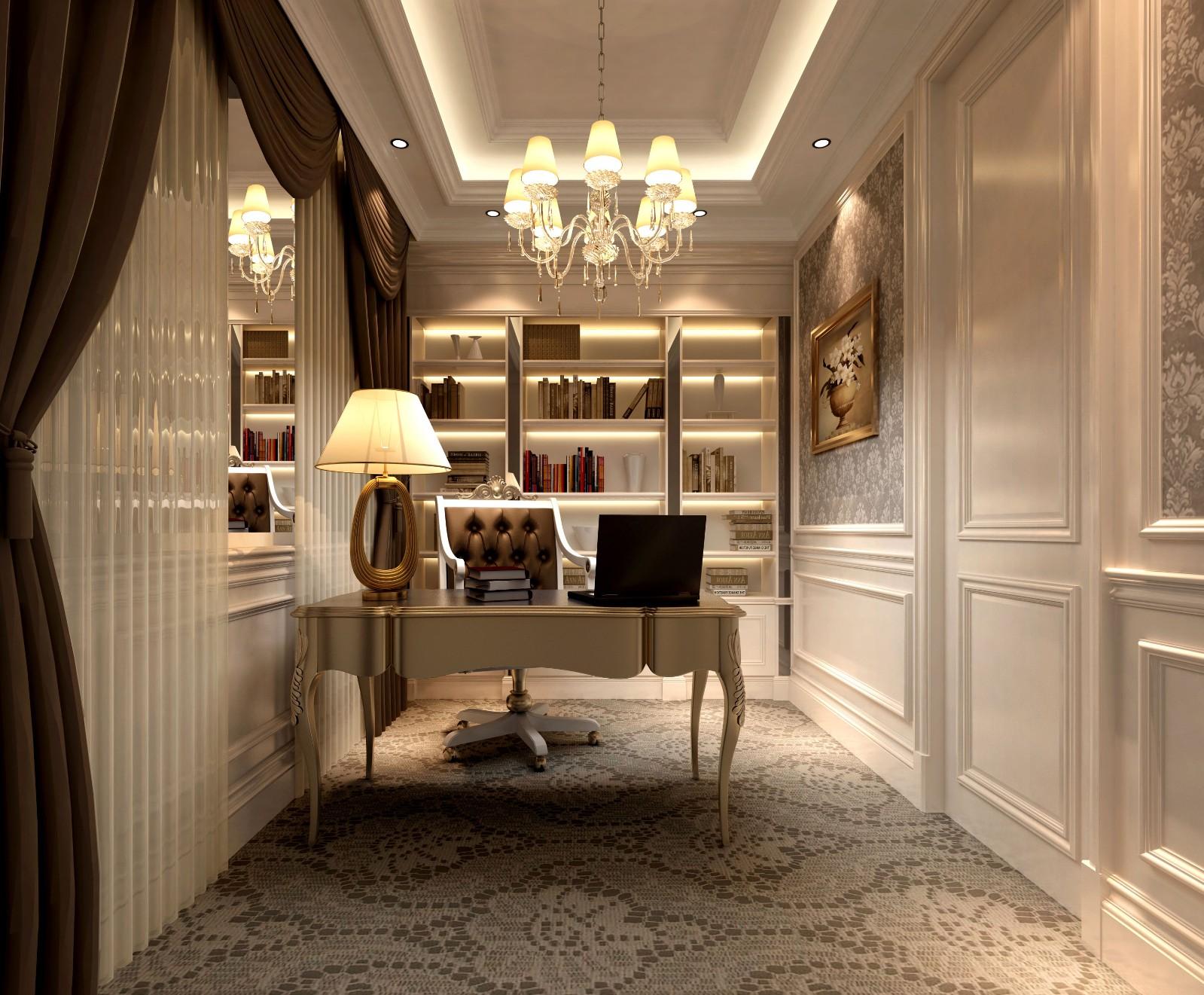 3室2卫2厅欧式风格