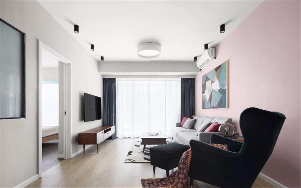 2室1卫2厅65平米北欧风格