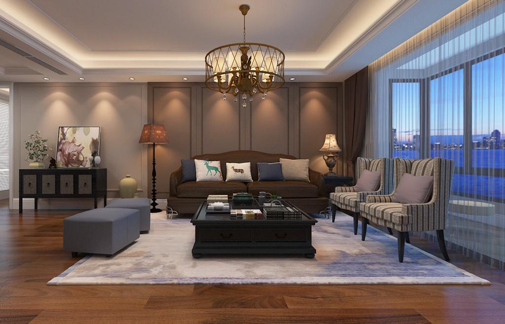 3室3卫2厅200平米美式风格
