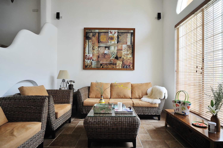 180平美式风格别墅装修效果图