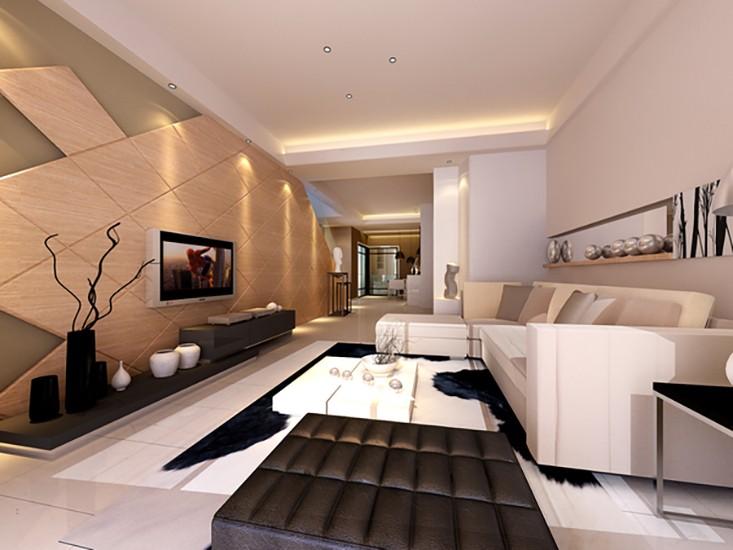 2室2卫2厅140平米现代简约风格