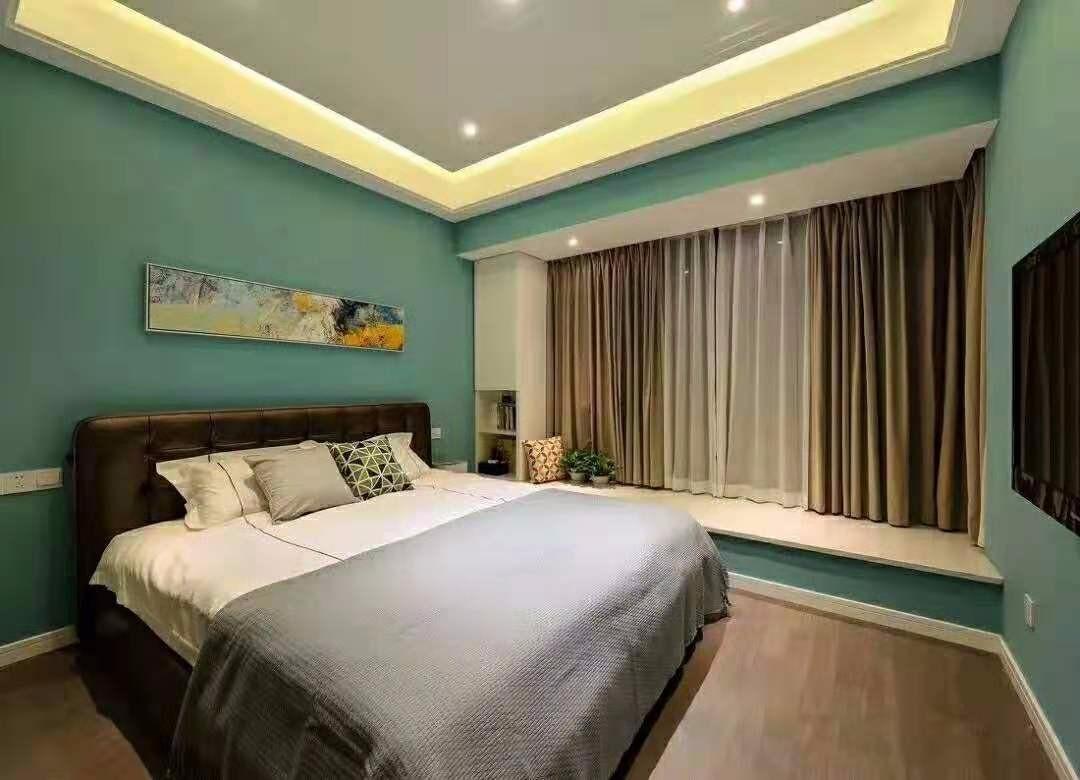 2021现代欧式卧室装修设计图片 2021现代欧式背景墙图片