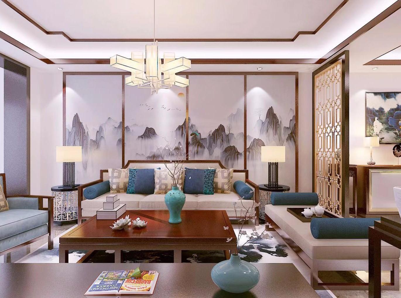 2室1卫1厅89平米中式风格