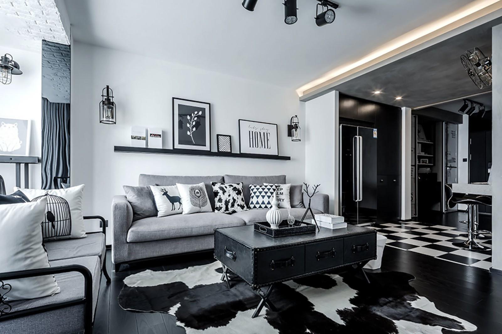 1室1卫1厅68平米现代简约风格