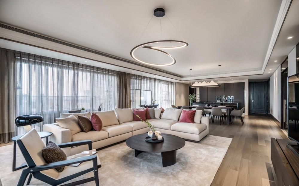 200平新中式別墅裝修效果圖
