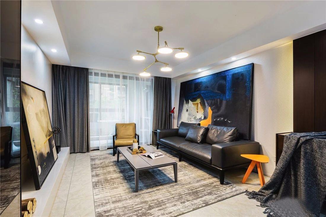 140平现代主义4室2厅,品味小资生活的轻奢质感