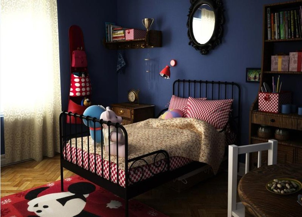 2020宜家儿童房装饰设计 2020宜家背景墙装修图