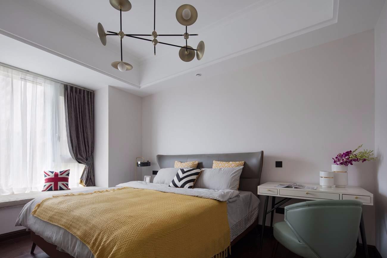 2019美式起居室装修设计 2019美式细节装修效果图大全