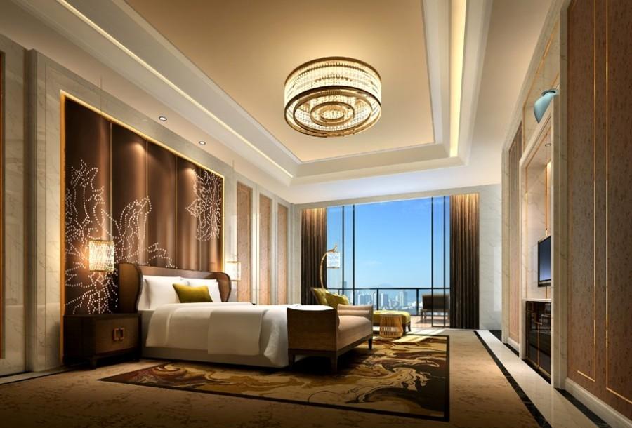 現代簡約8500平師宗天龍酒店綜合設計裝修效果圖