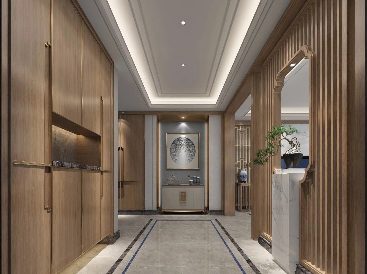 2020中式110平米装修设计 2020中式楼房图片