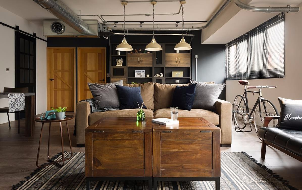 2021工业90平米装饰设计 2021工业二居室装修设计
