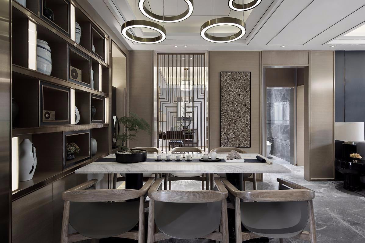 158平米三居室新中式风格