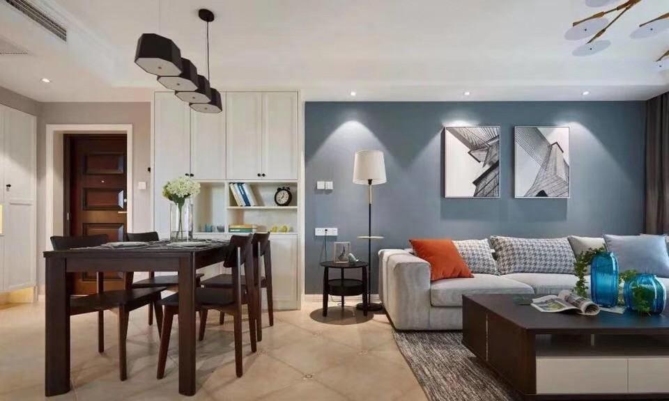 109平米现代混搭三居室