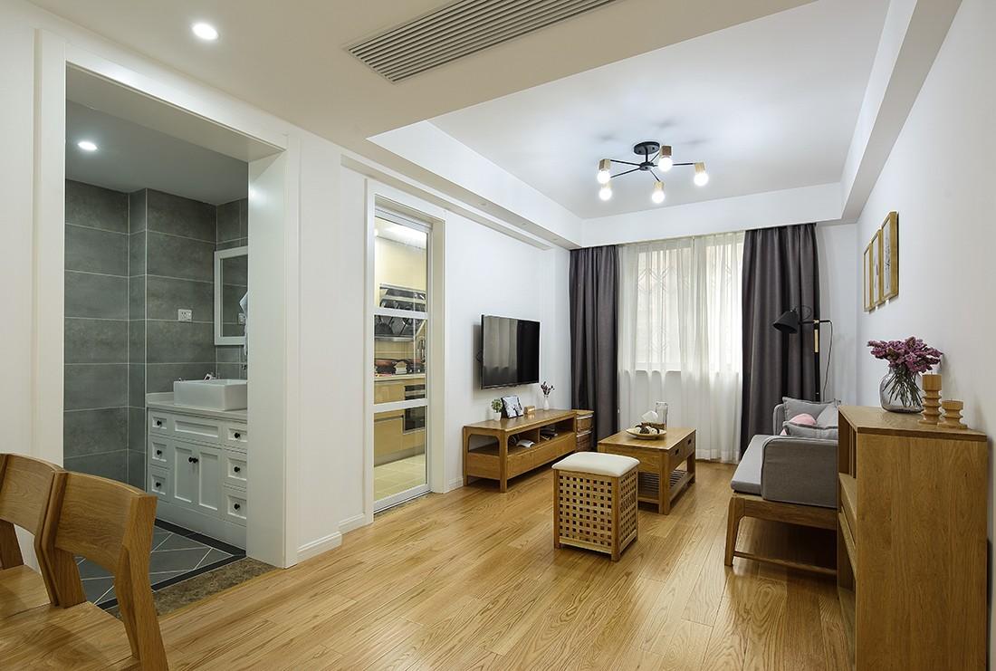 112方三居室欧式风格装修效果图