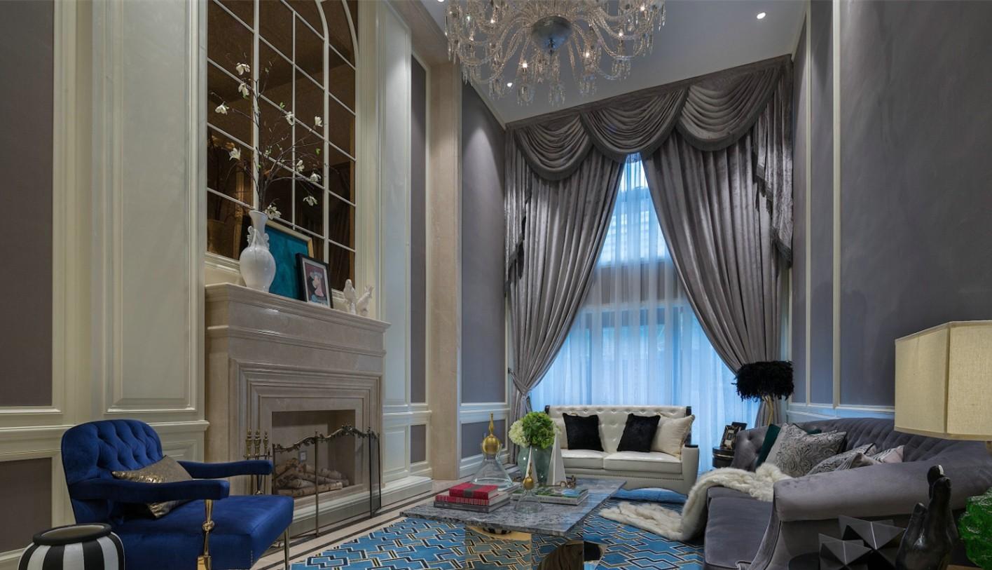 2020新古典110平米裝修設計 2020新古典三居室裝修設計圖片