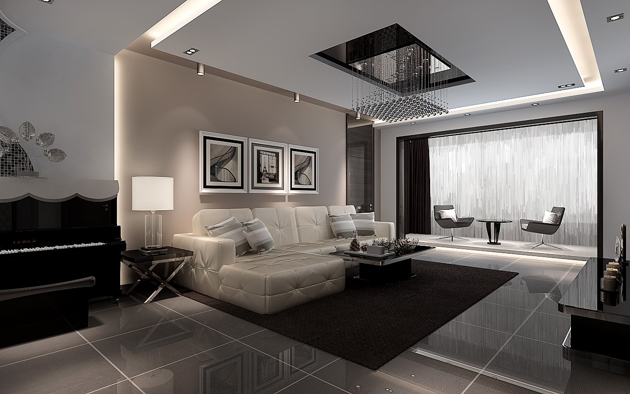 3室1卫2厅118平米现代简约风格