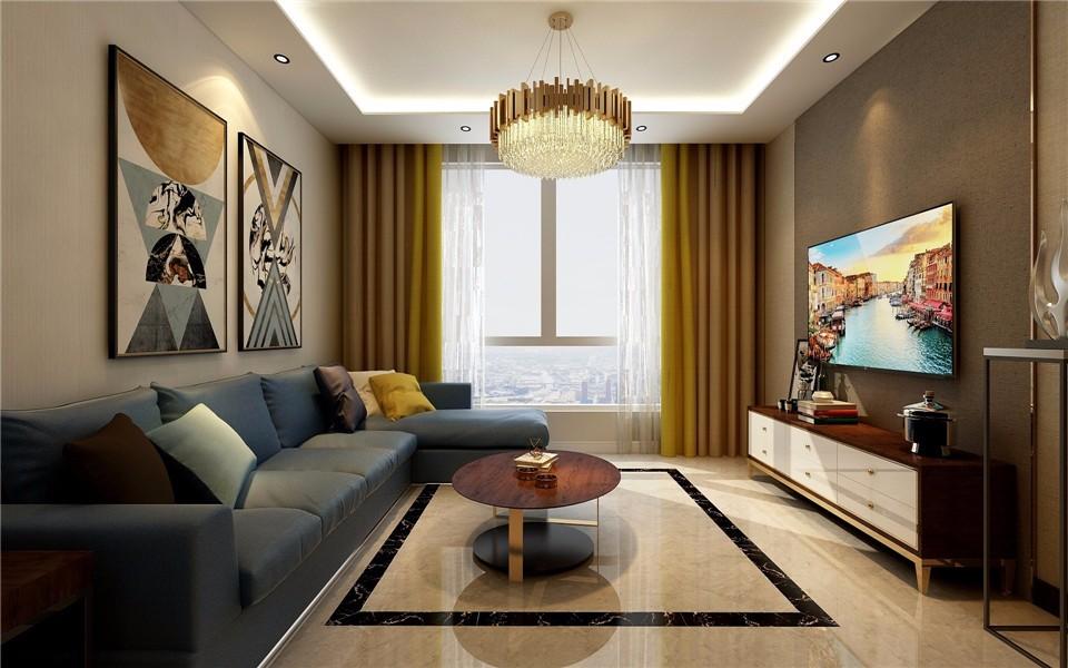 3室2衛2廳118平米現代風格