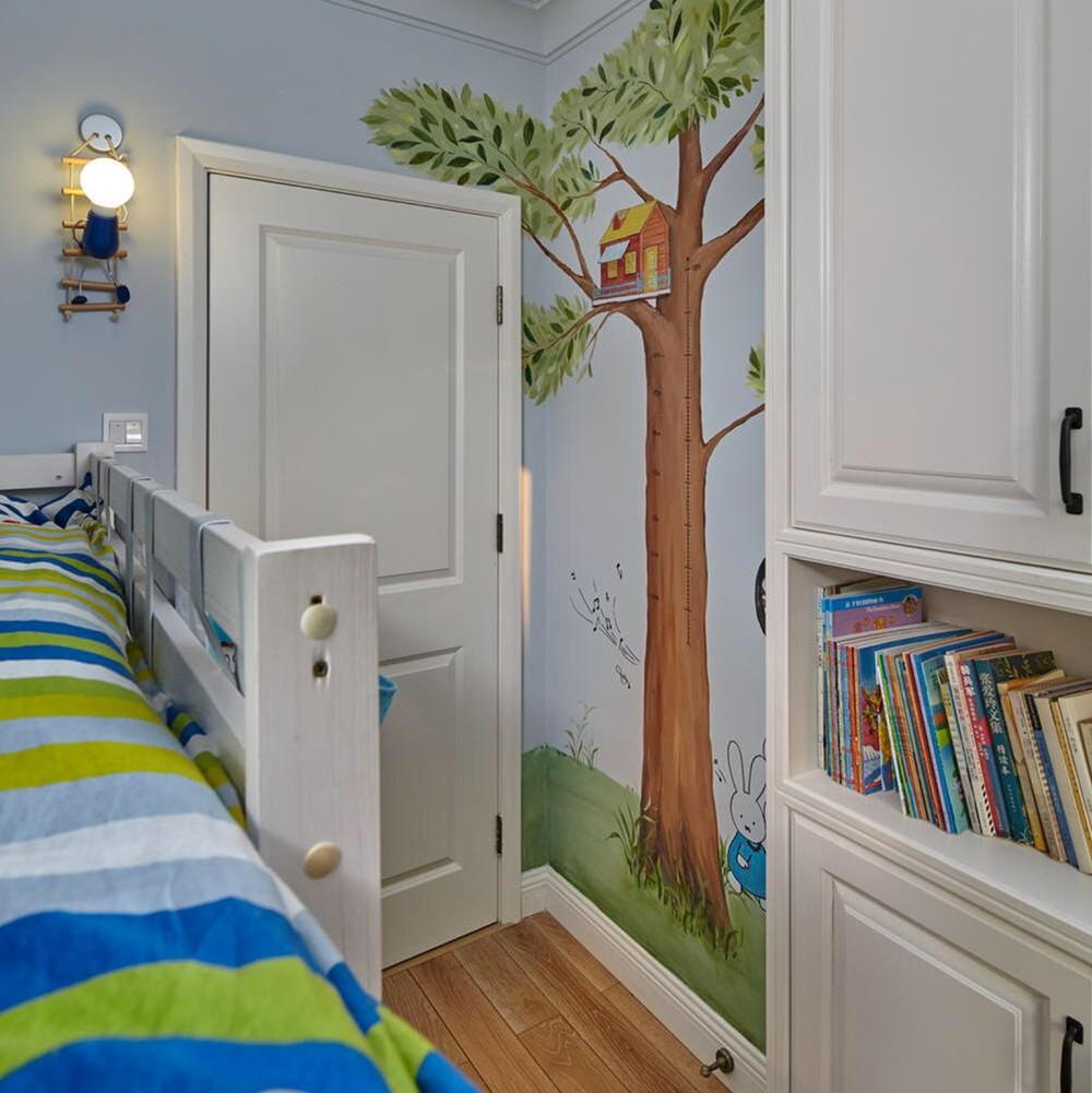 2021复古儿童房装饰设计 2021复古隔断装修设计图片