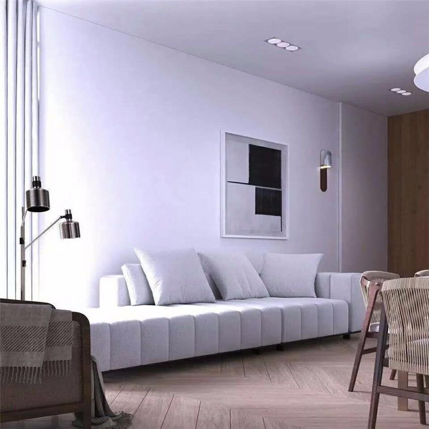 80平米现代简约风公寓装修效果图