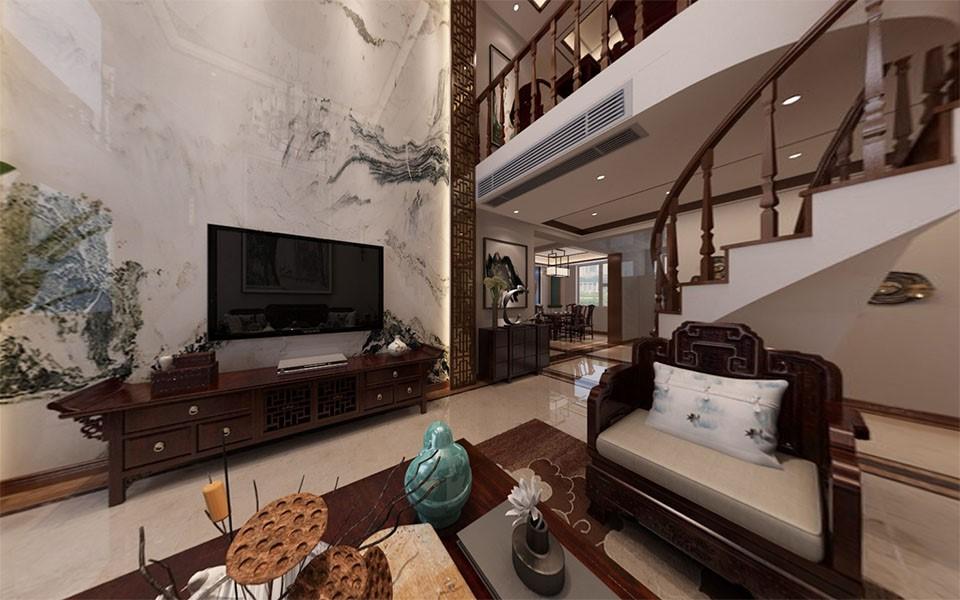 3室1卫1厅204平米新中式风格